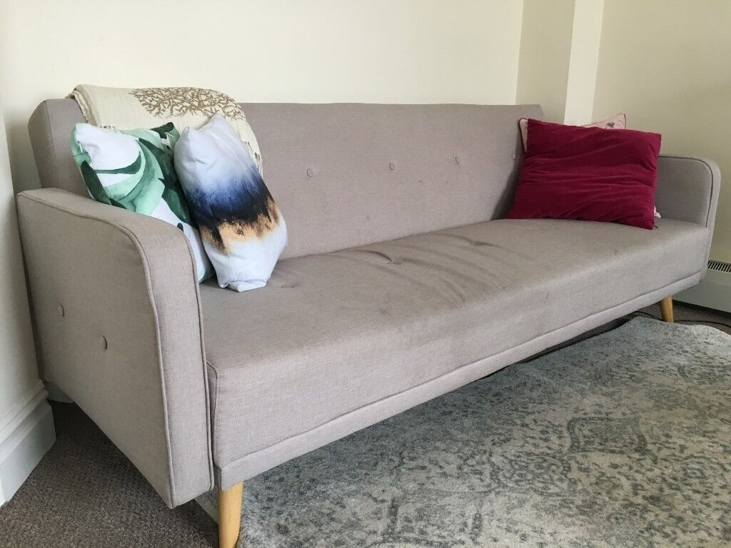 Mid Century Modern Made Sofa Bed