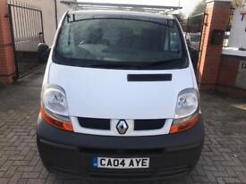 Renault Traffic. 2004, FULL MOT, good runner, cheap work van,