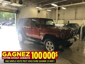 2014 Jeep Wrangler Unlimited 4 dr**SAHARA**2 TOITS**EDITION EXPE
