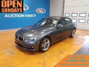 2018 BMW 330i X-DRIVE! LEATHER! SUNROOF! NAVI! LOW KM'S! xDrive