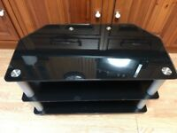 Tv stand- Black, very good condition