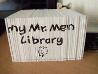 FULL LIBRARY SET OF MR MEN BOOKS ( 46 )