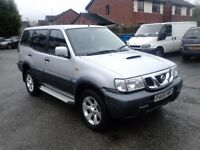 2005 NISSAN TERRANO II 7 SEATER DIESEL WITH JUST 104,000 MILES FROM NEW, NEEDS MOT