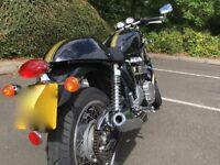 Triumph Thruxton Cafe Racer Motorbike