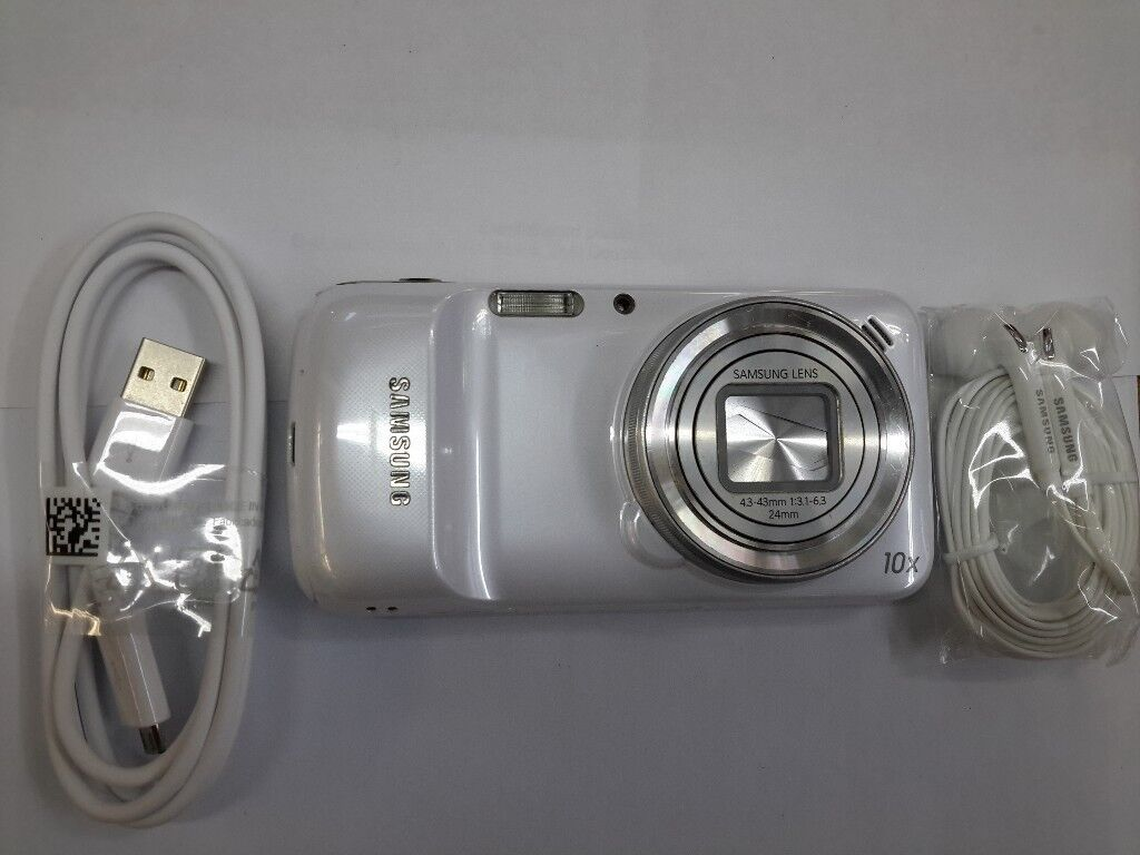 USED SAMSUNG GALAXY S4 ZOOM IN WHITE- 16MP