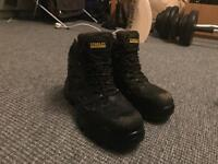 Stanley fat max waterproof safety boots black