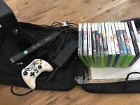 Xbox 360 + Kinect & 16 games