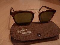 Genuine Ray Ban 'Gatsby' style sunglasses.
