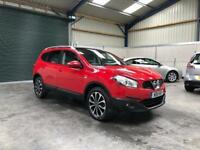 2011 qashqai n-tec +2 dci 7 seater panoramic roof sat nav 67,000!! Guaranteed cheapest in country