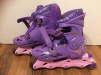 Girls' Bratz Inline skates with adjustable size 2-4