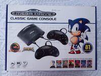 Sega Mega Drive Classic Game Console in excellent condition