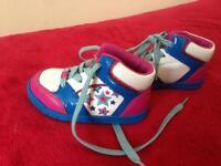Clark girl shoes