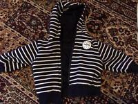 Next boys reversible jacket 6-9 months