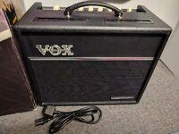 VOX VALVETRONIX VT20+ GUITAR MODELLING COMBO AMPLIFIER 20 WATT BUILT-IN EFFECTS