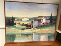 Large ikea canvas Hallaryd 91x118cm