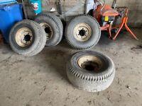 Woods trailer wheels & rims