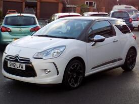 CITROEN DS3 1.6 THP DSPORT PLUS 3dr (155) * Full Leather * *Great Value Only 39000 miles* 2012