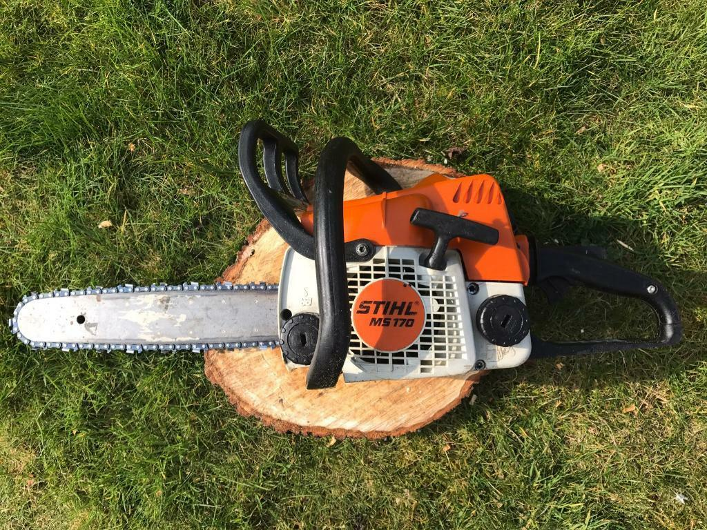 Stihl ms petrol chainsaw quot bar and chain serviced