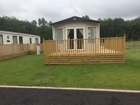 brand new stunning Abi Clarendon sited on a brand new devolpment At Camelot holiday park