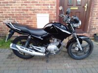 2012 Yamaha YBR 125 , 9 months MOT, service history, excellent runner, very good condition, not cbf,