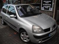 RENAULT CLIO 1.4 16v Dynamique 3dr (silver) 2005