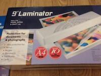 "9 "" laminator"