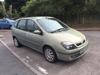 Renault scenic low miles long mot ,good condition lots of room ,px welcome