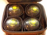 Indoor Bowls - set of 4