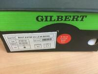 Gilbert rugby boots. Size 8
