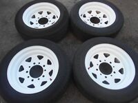 "15"" WELLER RACING WHEELS / TYRES - FORD TRANSIT"