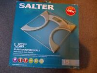 Salter glass analyser scale