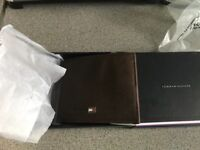 Brand news sealed in box genuine Tommy Hilfiger wallet bargain £45