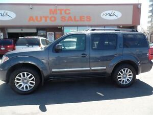 2011 Nissan Pathfinder LE, 4X4, LEATHER. 7 PASSENGER, BACKUP CAM