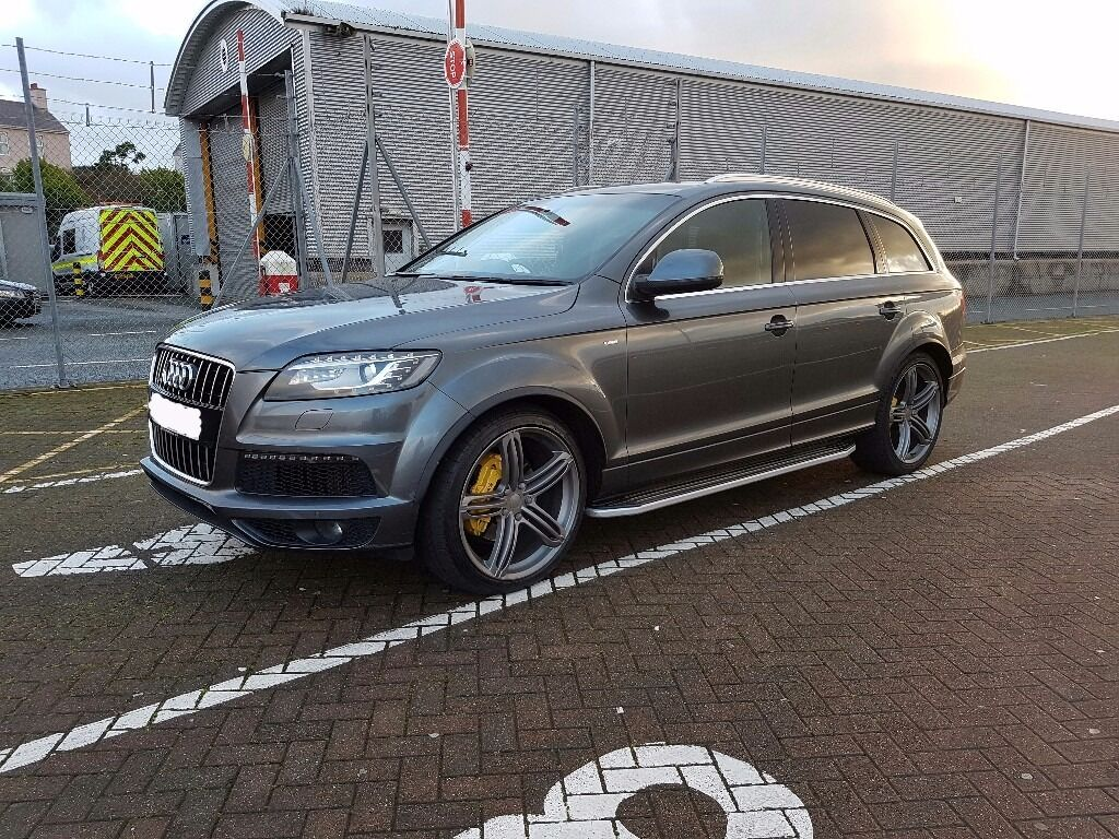 audi q7 low miles fash in newry county down gumtree. Black Bedroom Furniture Sets. Home Design Ideas