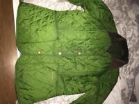 Genuine green Barbour coat