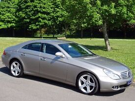 2007 (57) Mercedes-Benz CLS 3.0 CLS320d CDI 7G-Tronic 4dr - FULL BLACK HEATED LEATHER