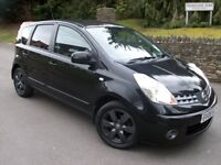 LOVELY 2008 NISSAN NOTE ACENTRA r 1.4 MPV,FULL SERVICE HISTORY,1 YEAR MOT MARCH 2018,A/CON BLUETOOTH