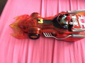 Power ranger mystic force, action figure and car