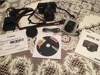 Canon EOS Digital Camera with hot shoe flash
