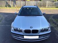 BMW 3 Series 2.0 318i SE Touring 5dr 2002 Estate 111,000 miles Automatic 1995cc Petrol+One Year MOT