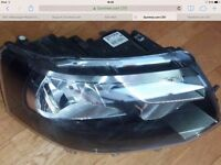 VW Headlight T5 Right Side Halogen Single Headlamp, RHD, T5