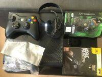 Xbox 360 'E' Console - 250gb Black Bundle