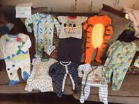Brand new never used baby boys Cloths