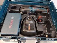 BOSCH 10.8v GOP multitool LI-ION +CASE