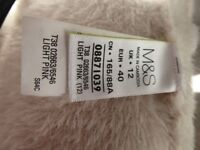 Marks and Spencers Textured Fluffy Cardigan