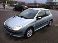"""PEUGEOT,206,HDI,LOOK,1.4cc,DIESEL,3DR,2003,MANUAL,CHEAP ROADTAX"