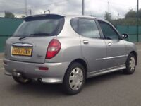 2003 (Sep 53) DAIHATSU SIRION 1.2 SL - Hatchback 3 Dr - Petrol - Manual - SILVER *LONG MOT/P-SENSOR*