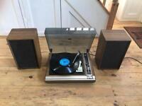 Vintage ITT record player