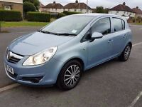 2008 VAUXHALL CORSA, 1.2 PETROL, MANUAL WITH 5400 MILES