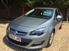 Lovely low mileage Astra, 1.4 Exclusive,privately owned, service history, good to drive